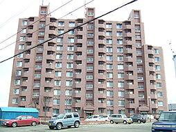 北海道札幌市清田区平岡二条4丁目の賃貸マンションの外観