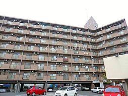 岡山県岡山市南区下中野の賃貸マンションの外観