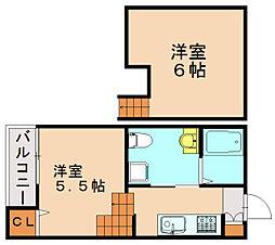 キキドKUMA[2階]の間取り