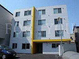 北海道札幌市豊平区美園六条5丁目の賃貸マンションの外観
