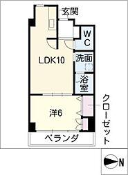 富士見町SKビル[8階]の間取り