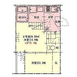 中村日赤駅 5.6万円