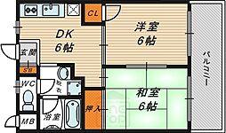 石原マンション[3階]の間取り