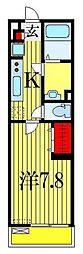 リブリ・リンドバーグ1号[3階]の間取り