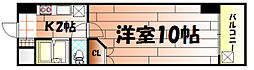 ウインズ三萩野[1205号室]の間取り