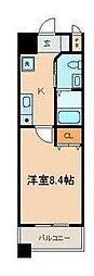 SHELL MIYAKO I[0602号室]の間取り