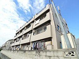 あきらマンション[1階]の外観