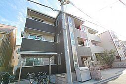 大阪府豊中市岡上の町4丁目の賃貸アパートの外観