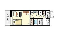 家具・家電付き エスタディオレシェンテ C[2階]の間取り