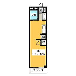 HOUSE 610[3階]の間取り