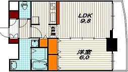 サムティ京都二条[7階]の間取り