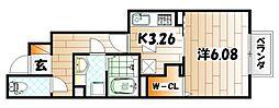 D-room熊谷[1階]の間取り