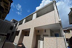 兵庫県西宮市里中町3丁目の賃貸アパートの外観