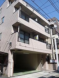 東京都大田区南蒲田3丁目の賃貸マンションの外観