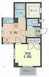 エスポワール町屋[4階]の間取り