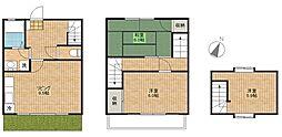 [テラスハウス] 埼玉県桶川市大字加納 の賃貸【/】の間取り