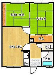 ノースマンション1[5号室]の間取り