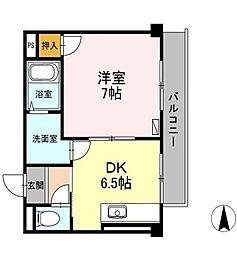VIRAGE TAKASU[2階]の間取り