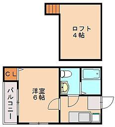 MAHOROBA[2階]の間取り