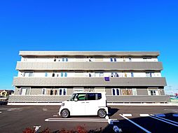 東京都武蔵村山市榎3丁目の賃貸アパートの外観
