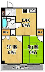 カダイ1号館[7階]の間取り
