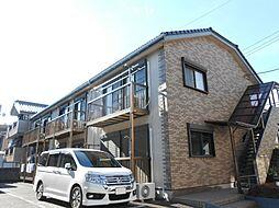 神奈川県横浜市港北区箕輪町3丁目の賃貸アパートの外観