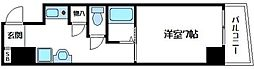 内淡路町新築マンション[8階]の間取り