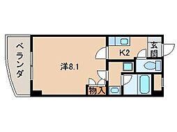 ル・マンA1番館[4階]の間取り