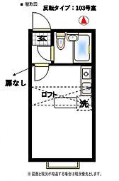 ベルピア北松戸第4-1[204号室号室]の間取り