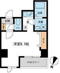 アテッサ吉野町[6階]の間取り