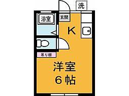 高橋アパート[104号室]の間取り