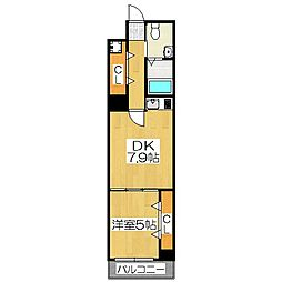 G-Stage京都油小路[2階]の間取り