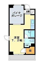 神奈川県川崎市高津区末長4丁目の賃貸マンションの間取り