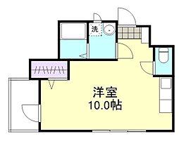 マンションニューボーン[2階]の間取り