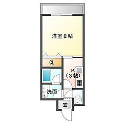 仮)三筋目新築アパートNA[1階]の間取り