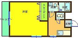 リファレンス三郎丸[103号室]の間取り
