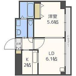ドマーニプレイス[4階]の間取り
