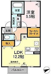 仮)D-room梅満町[1階]の間取り