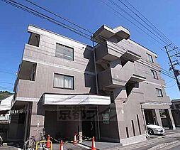 京都府京都市左京区上高野下荒蒔町の賃貸マンションの外観