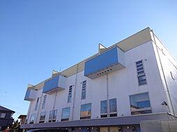 栃木県宇都宮市清原台3丁目の賃貸アパートの外観