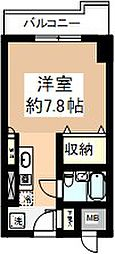 シティフォーラム新小平 9月契約キャンペーン[407号室]の間取り