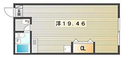 コンフェリア池田[4階]の間取り