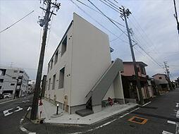愛知県名古屋市中川区花池町1丁目の賃貸アパートの外観