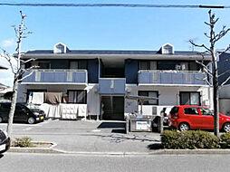 広島県広島市西区古江西町の賃貸アパートの外観
