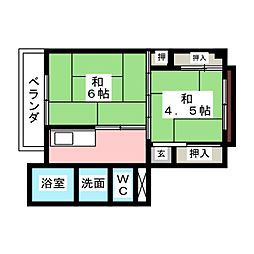 明智駅 2.4万円