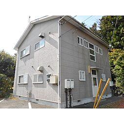 静岡県御殿場市東山の賃貸アパートの外観