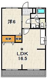 青山ハイツ[103号室]の間取り