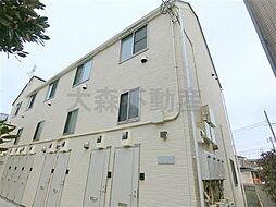 東京都大田区南久が原1の賃貸アパートの外観