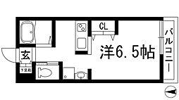 フェリーチェヒル[2階]の間取り