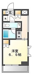 神奈川県川崎市高津区二子4丁目の賃貸マンションの間取り